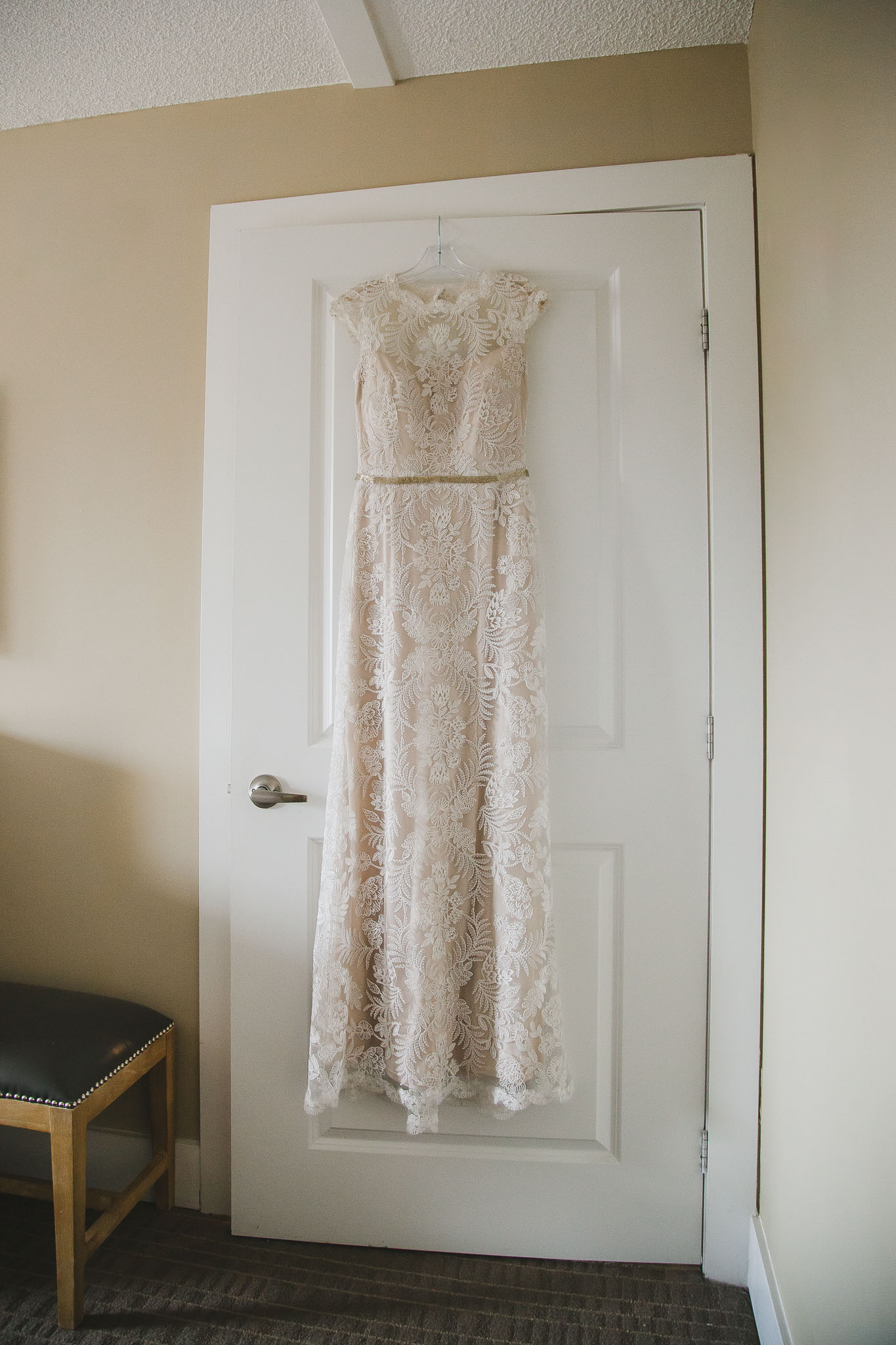 bridal dress and accessories
