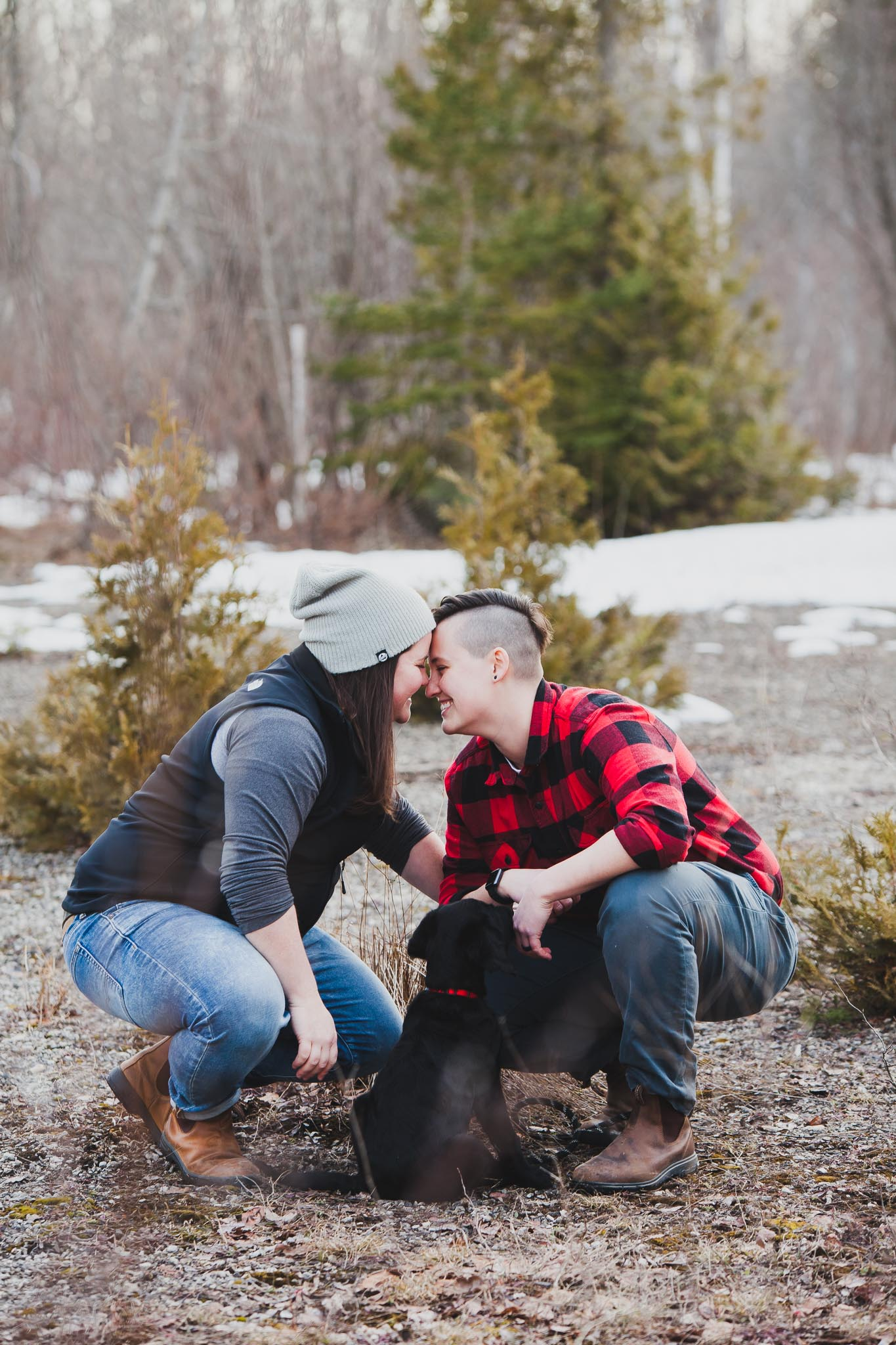 Owen Sound lgbtq engagement photographer
