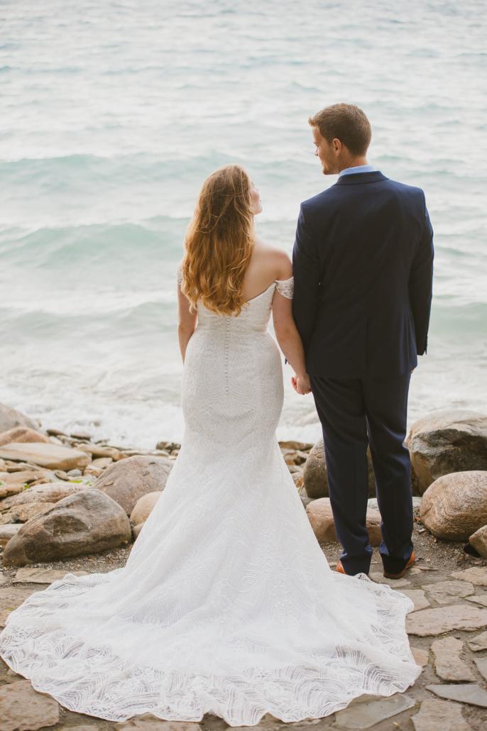 waterfront wedding photography