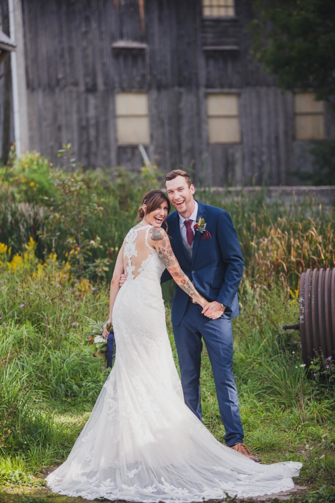 owen sound wedding photo