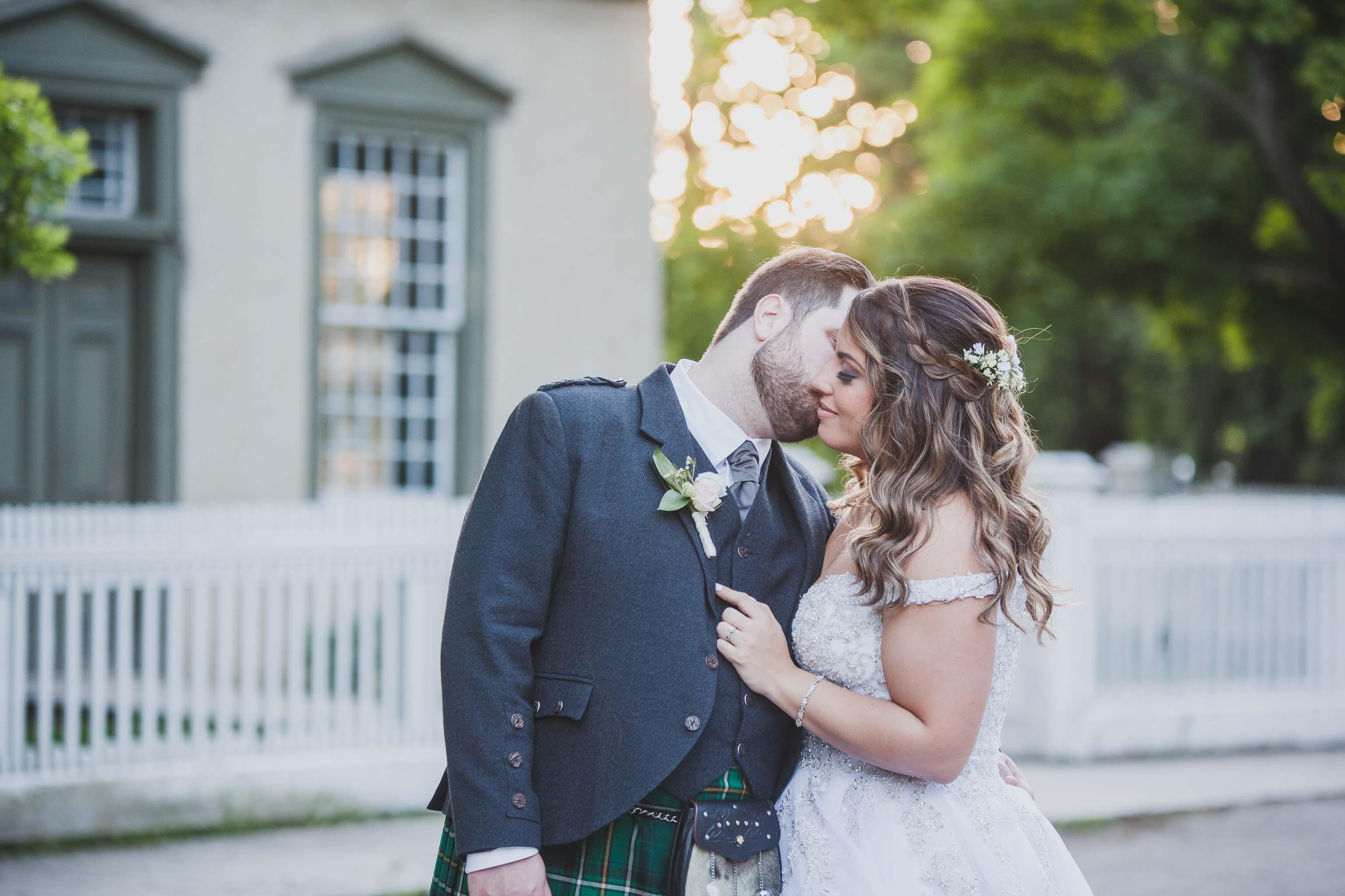 toronto sunset wedding photography