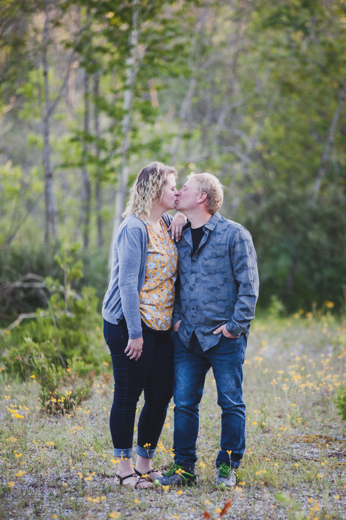 Meaford engagement photo