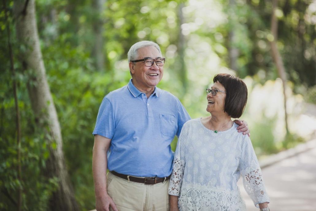 Chinese grandparents