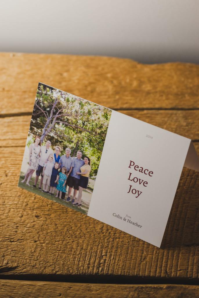 family Christmas card