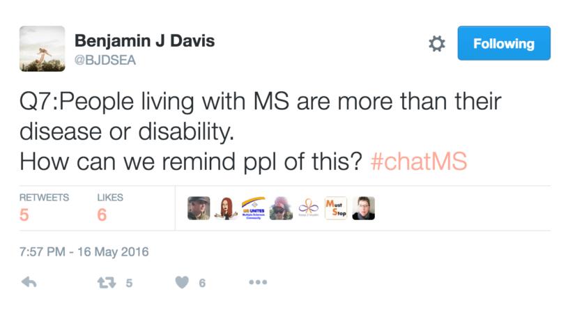 Benjamin J Davis' tweet