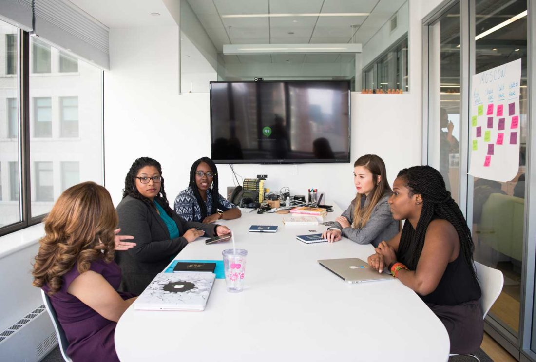 MS in the workplace - conference room