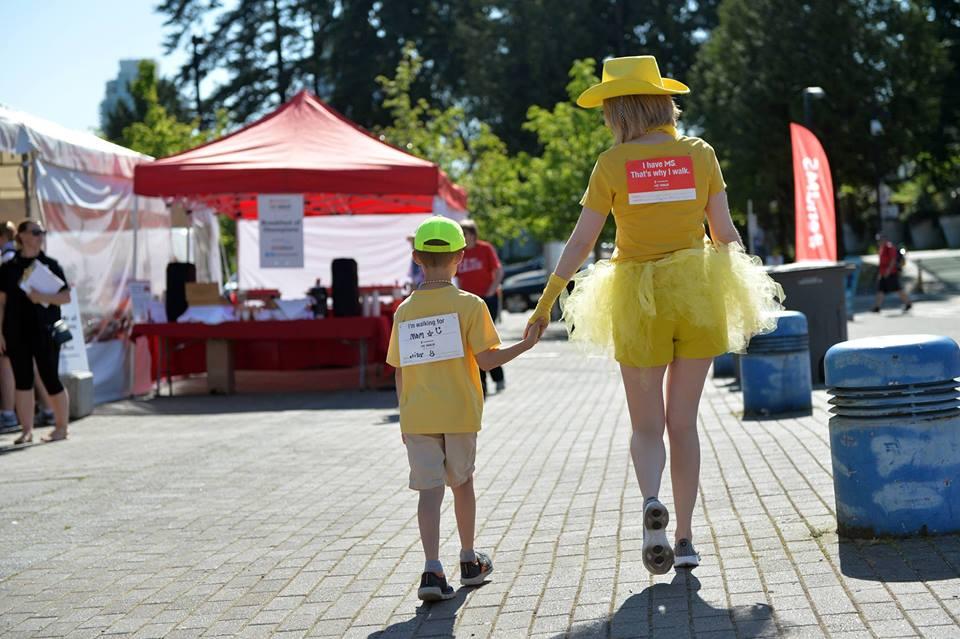 Photo of Sarah Le Huray, MS Walk ambassador