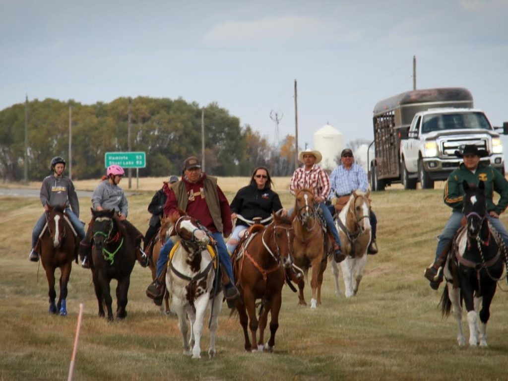 The Equestrian Ride for MS: Raising Awareness in First Nations Communities