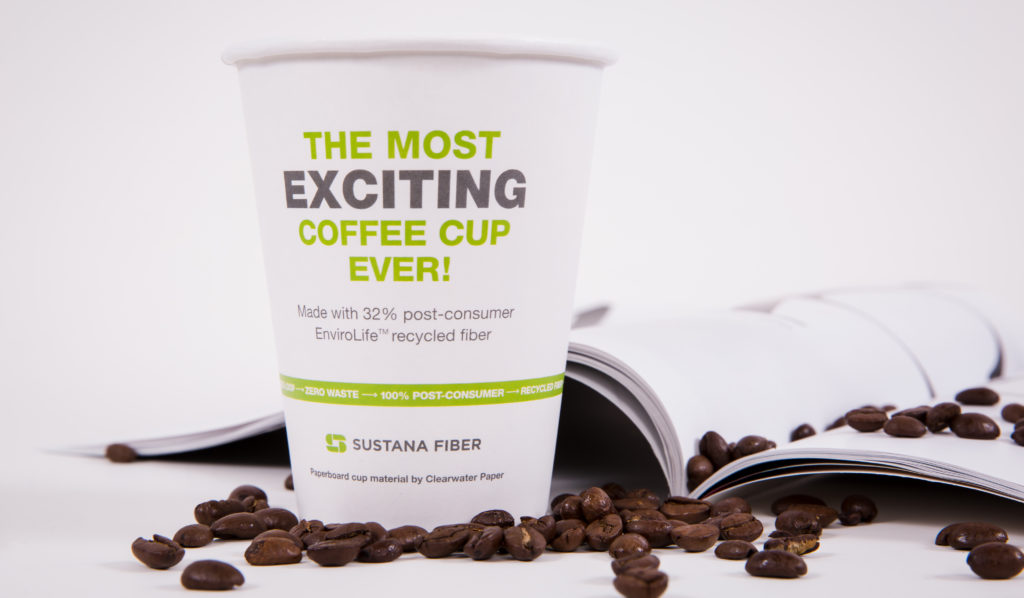 Sustana Fiber Recycled Paper Cup