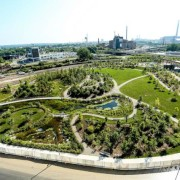 View of Corktown Commons Park