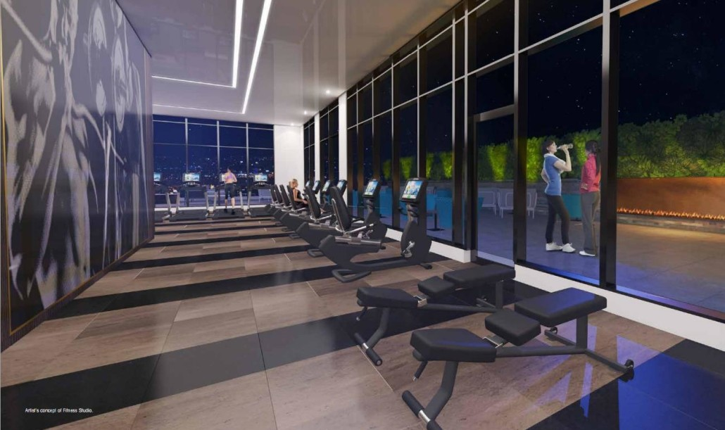 330 Richmond Condos Fitness Room