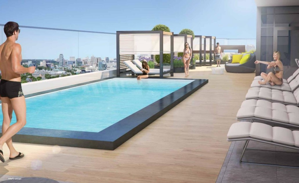 330 Richmond Condos Rooftop Pool