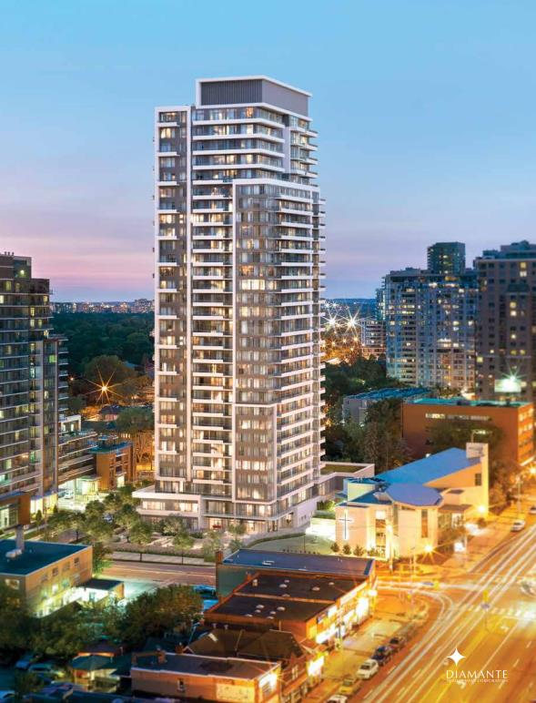 The Diamond Condominiums On Yonge Floor Plans Prices