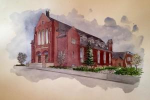 St Leslieville Church Condos Exterior