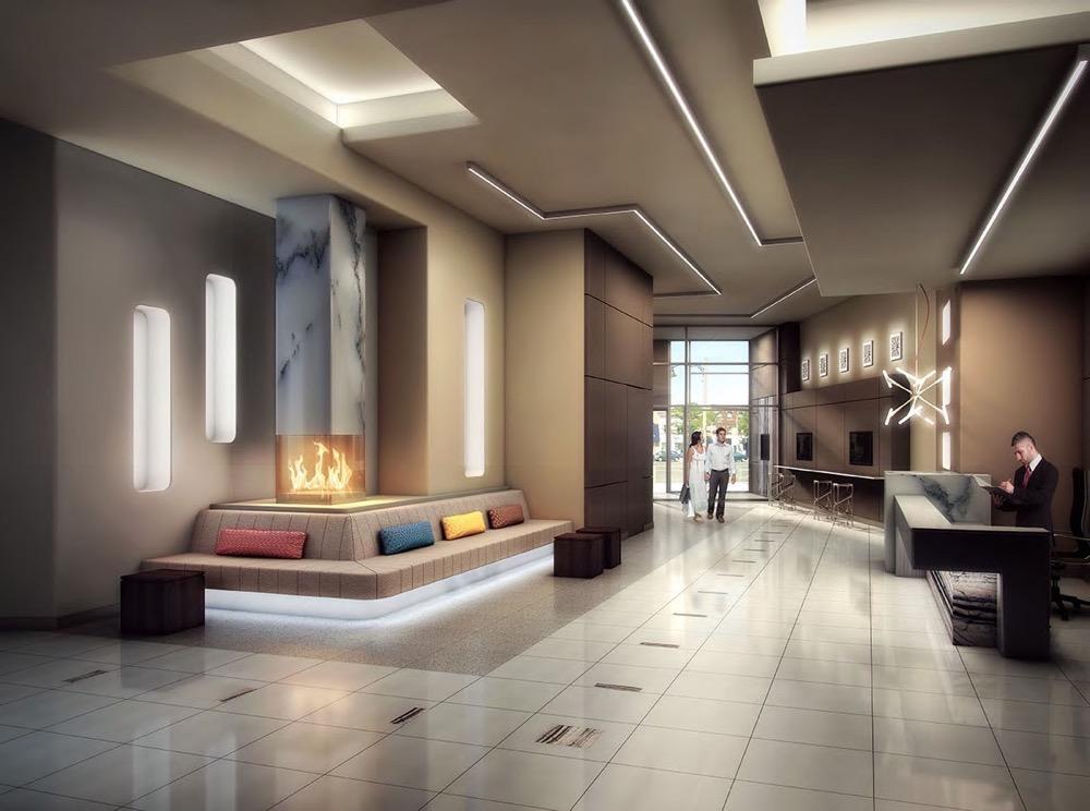 Empire Midtown Condos Lobby