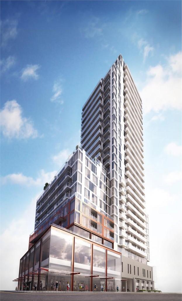 Whitehaus Condos Exterior Rendering