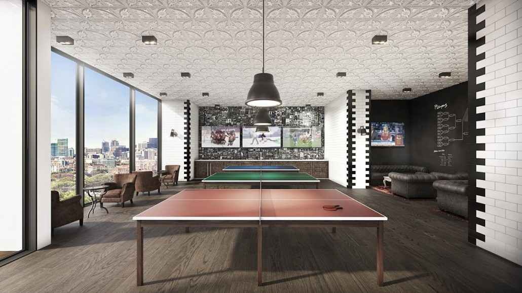 Whitehaus Condos Lounge