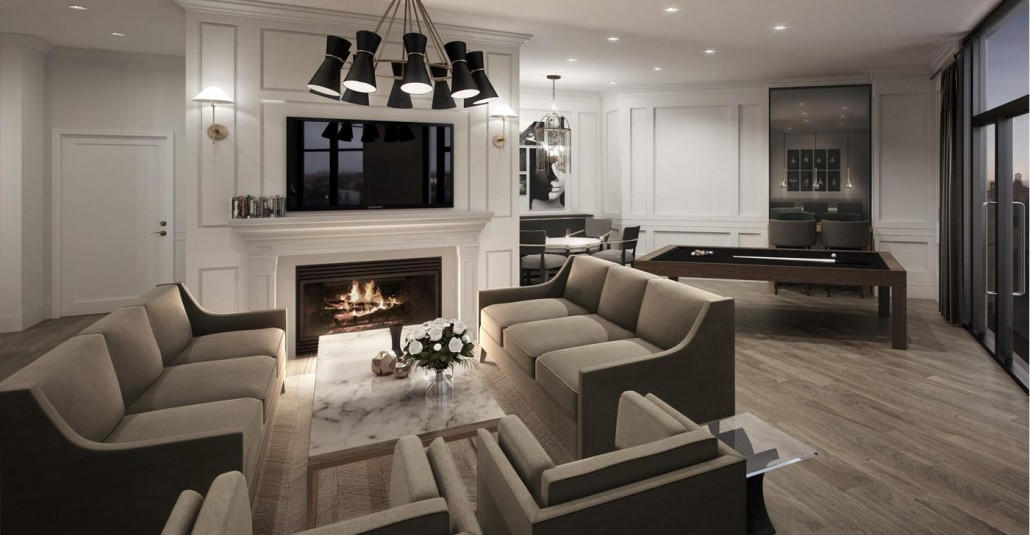 Caroline St. Private Residences Party Room