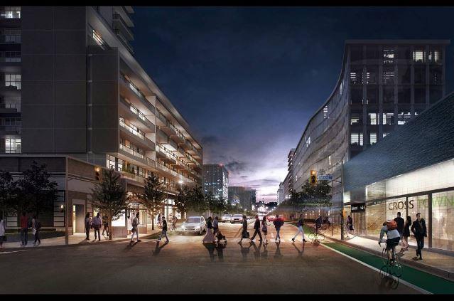 Empire Midtown Condos Streetscape