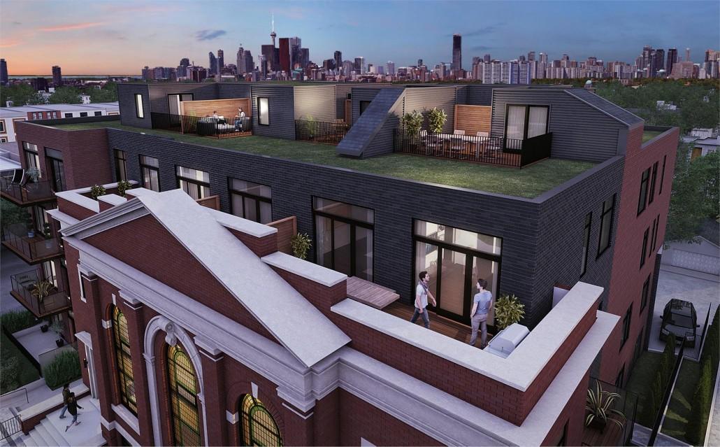 Sunday School Lofts Terrace