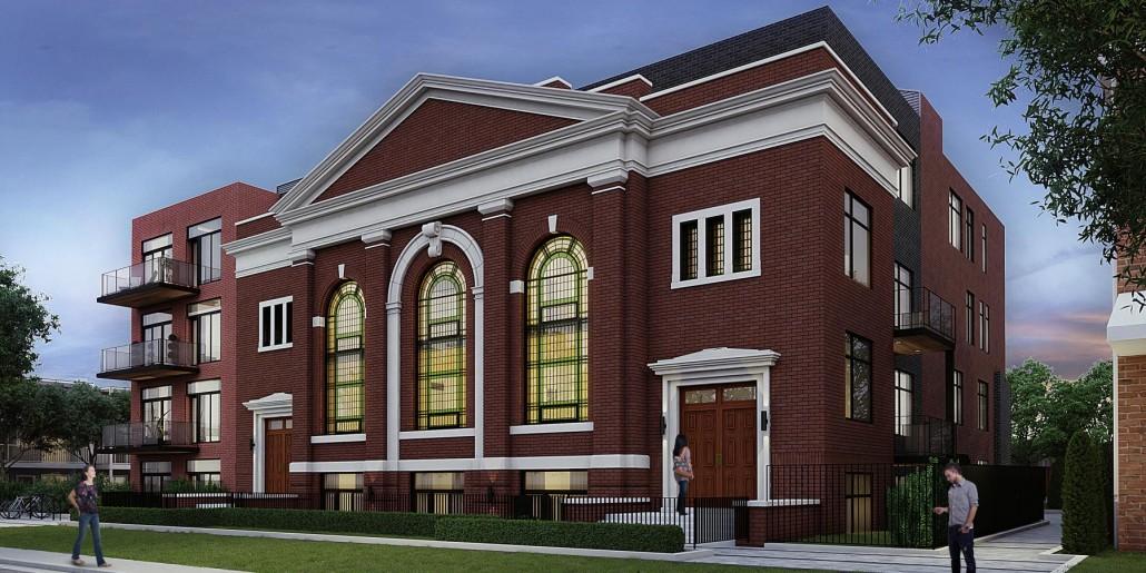 Sunday School Lofts Exterior