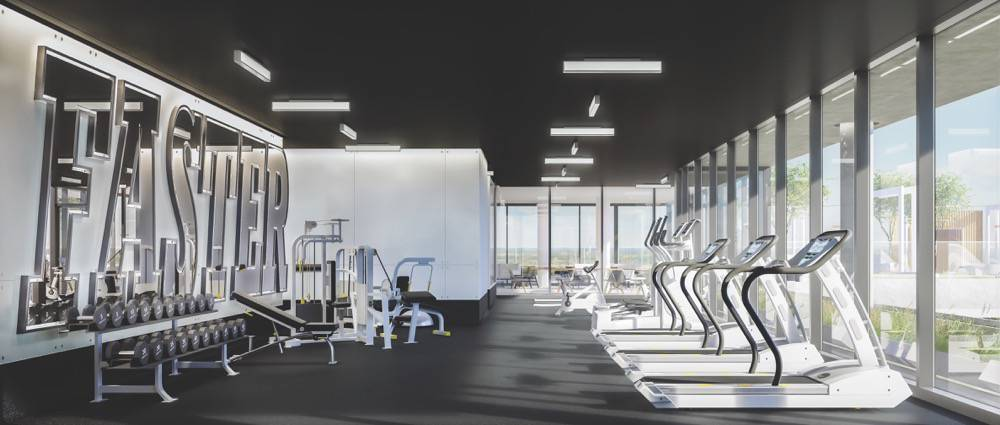 Fitness Centre at Rodeo Drive Condos