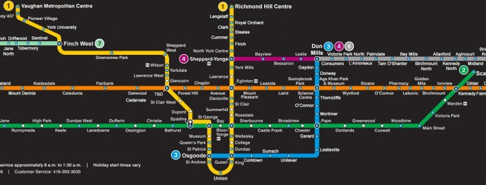 Ttc Subway Map 2018.Here Is How The Toronto Subway Might Look In 2035 Talkcondo