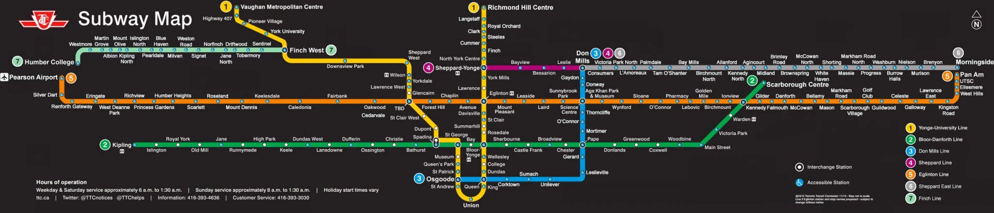 Eglinton Subway Map.Here Is How The Toronto Subway Might Look In 2035 Talkcondo