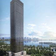 Exterior Rendering of Vita on the Lake Condos