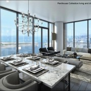 View from a suite at Harbour Plaza Residences