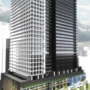 Early rendering of 20 Edward Condos