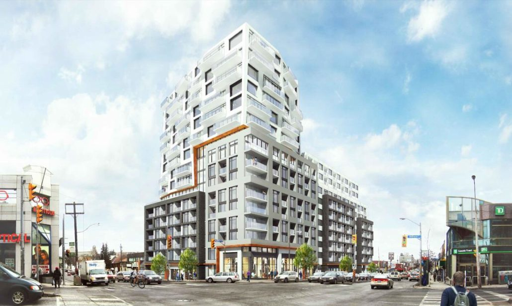 Early rendering of 859 Eglinton Avenue West