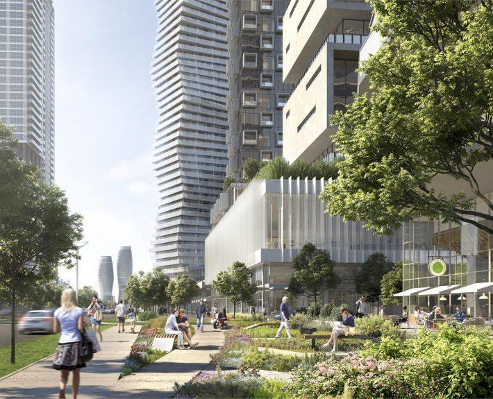 M City Condos ground level
