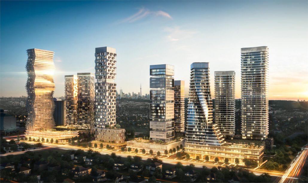 M City Condos Overall Plan