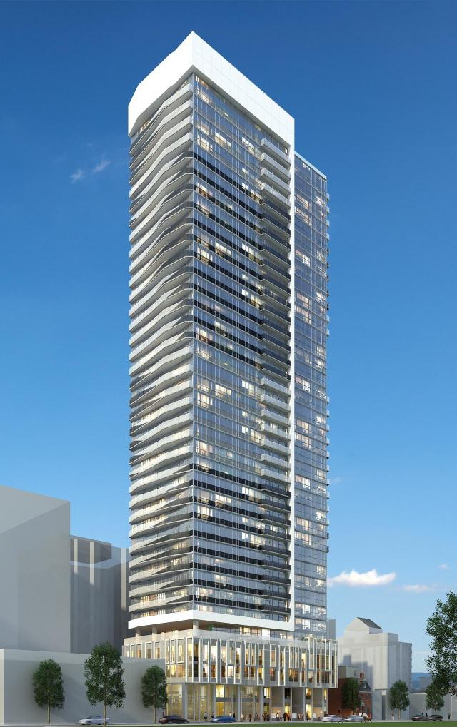 Max Condos Exterior Rendering at night