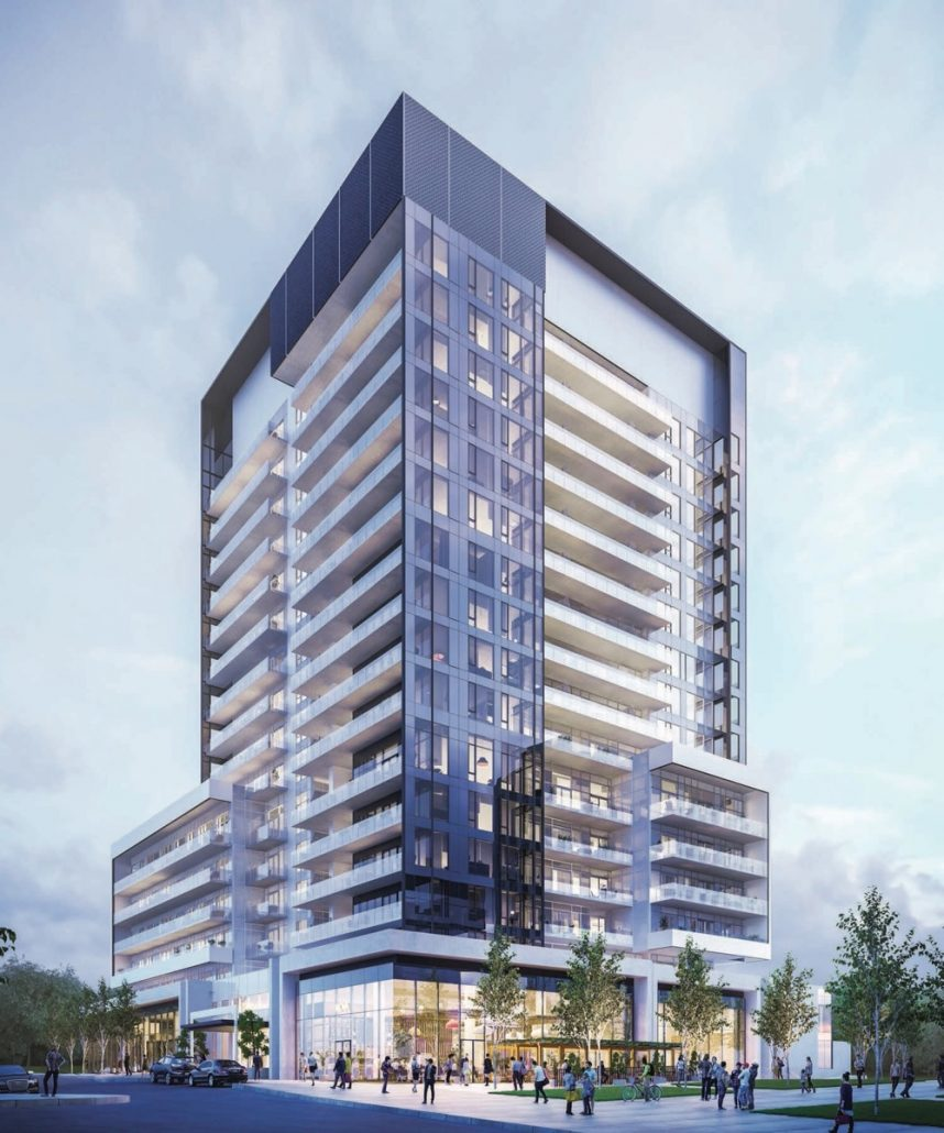 Exterior Rendering for Rodeo Drive Condos Phase 2
