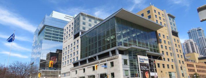 Exterior of Toronto General Hospital