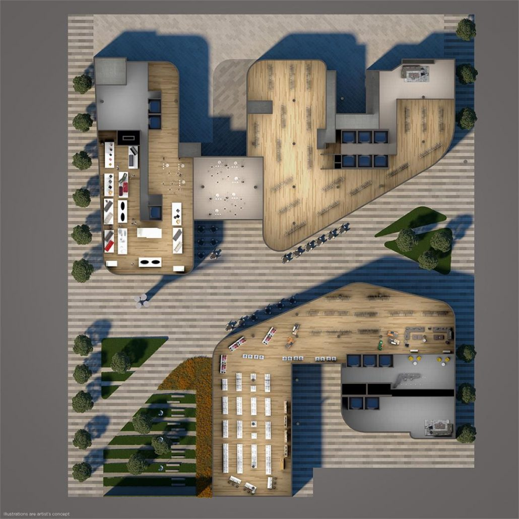 Artists' Alley Condos Site Plan
