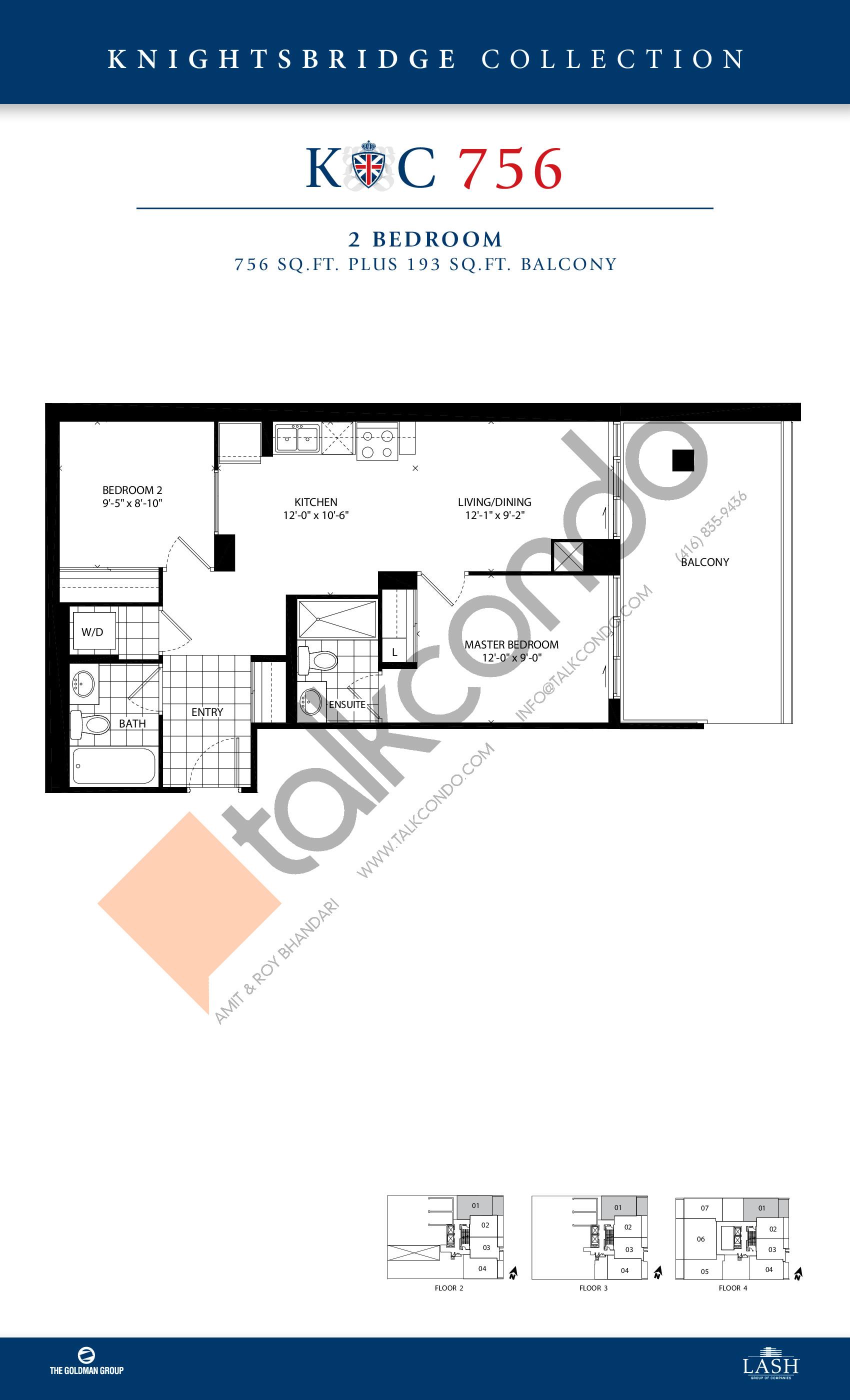 The barrington condos talkcondo for Barrington floor plan