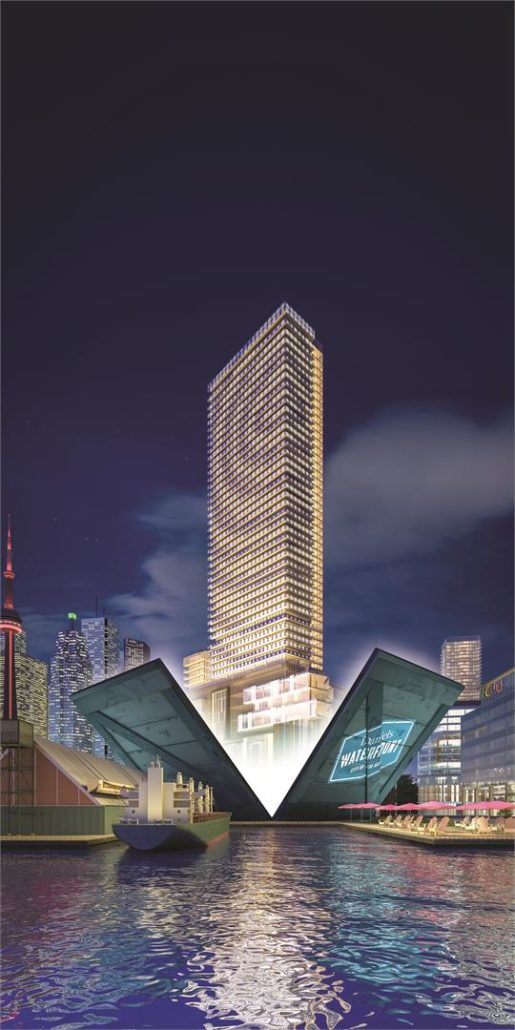 Lighthouse Condos East Tower Rendering