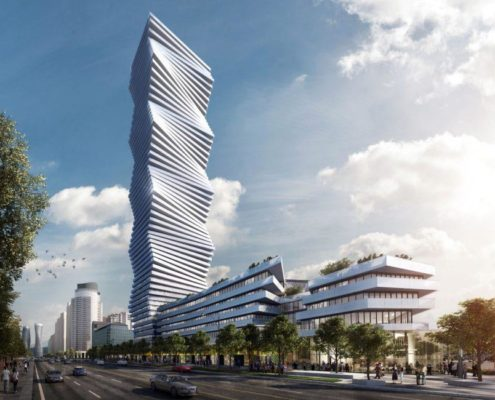 M City Condos Tower Rendering