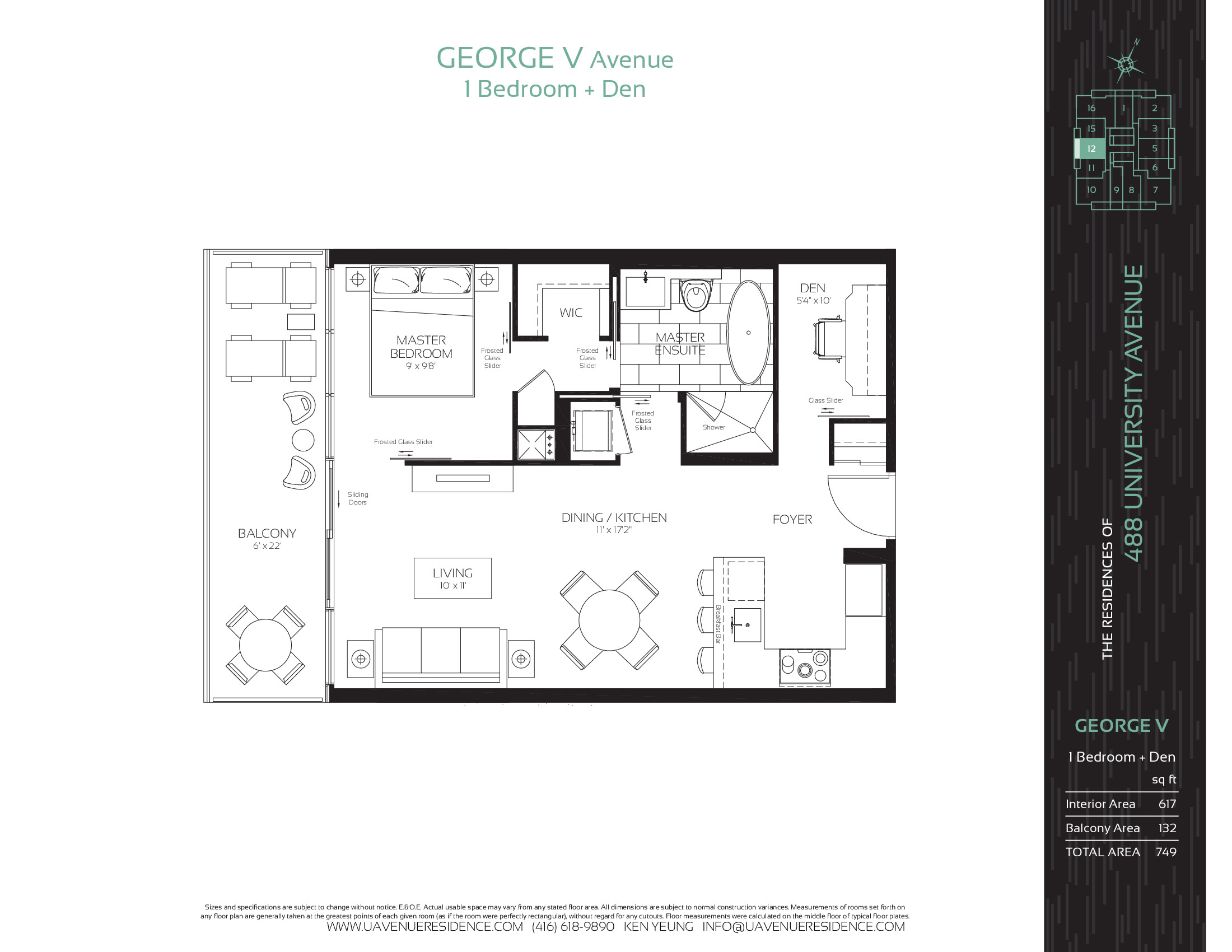The Residences Of 488 University Avenue Condos George V