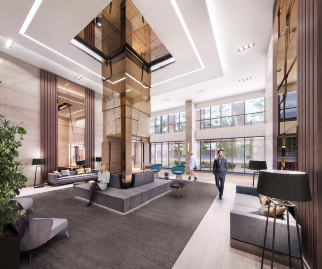 SuperSonic Condos Lobby
