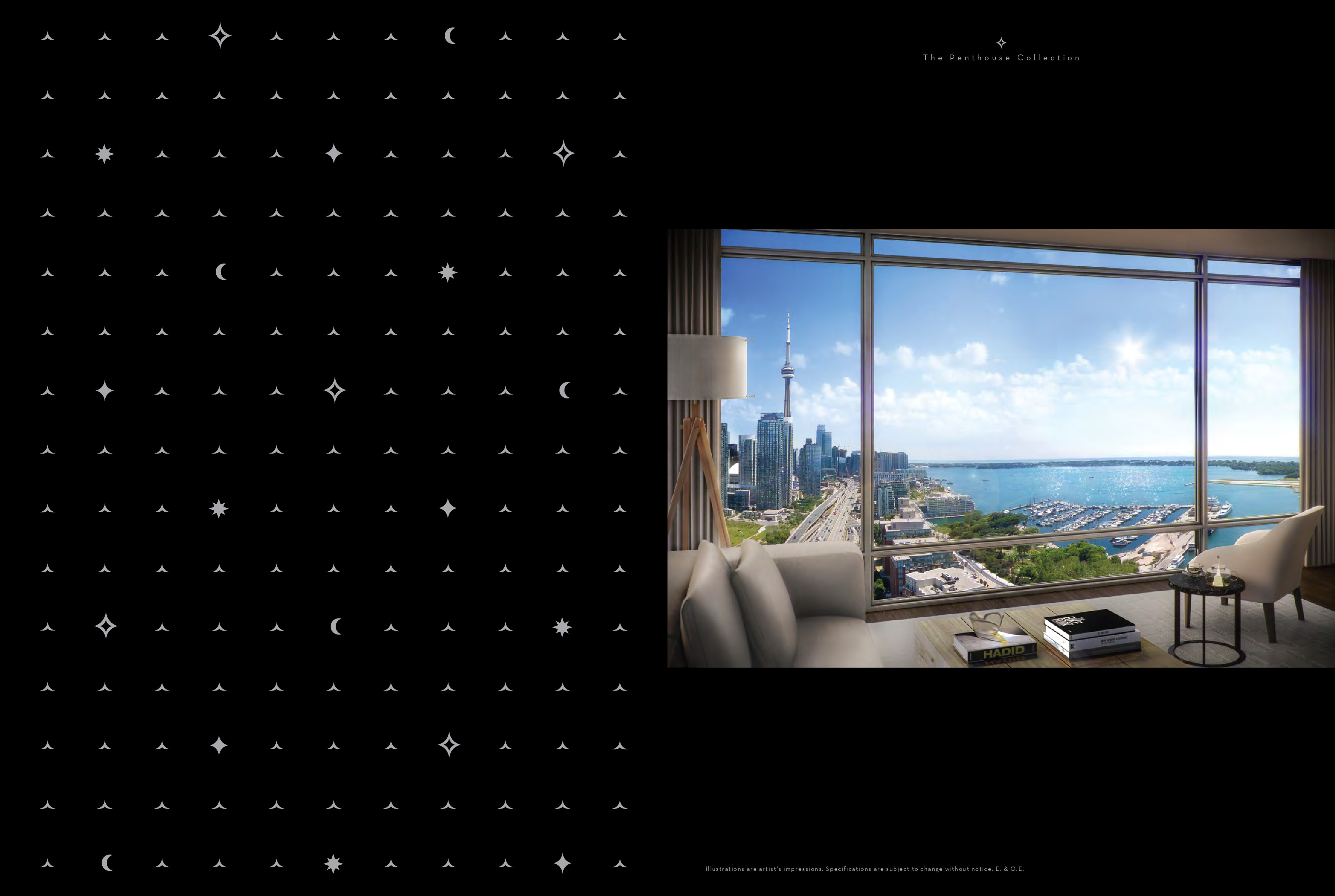 Penthouse 02 Floor Plan at The Lakefront Condos - 1442 sq.ft