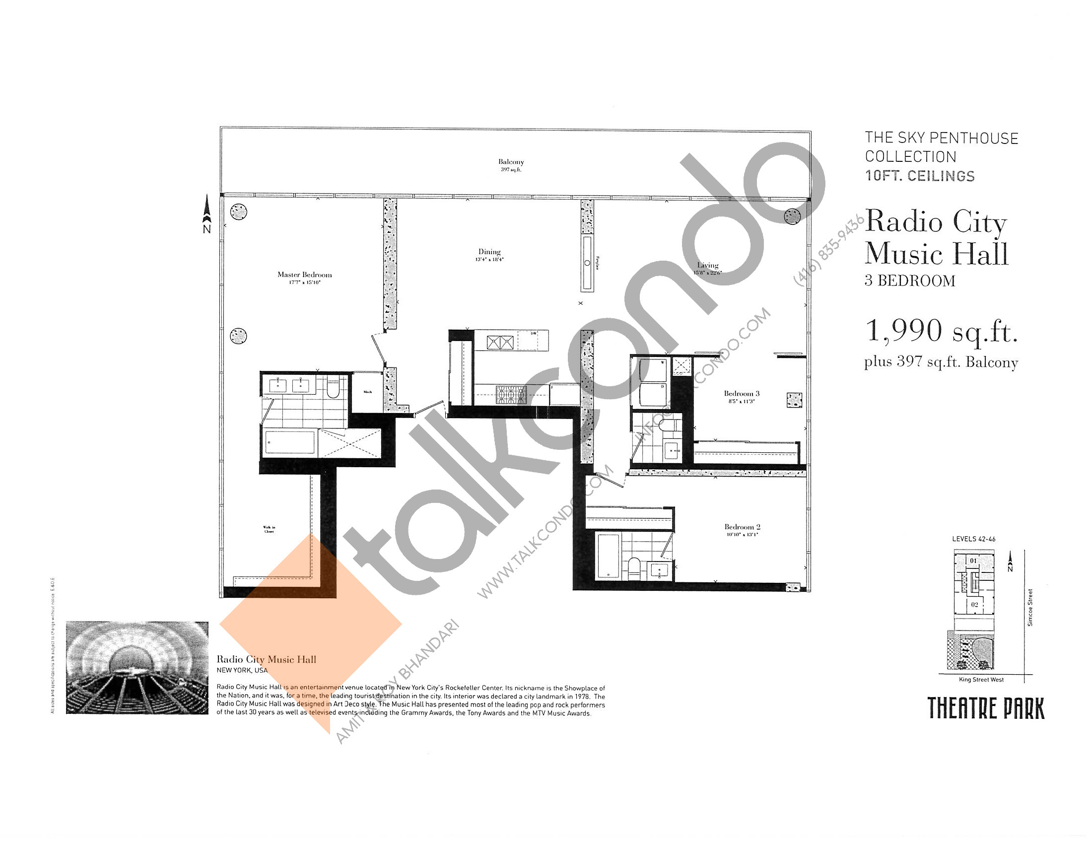 Radio City Floor Plans Toronto Viewfloor Co