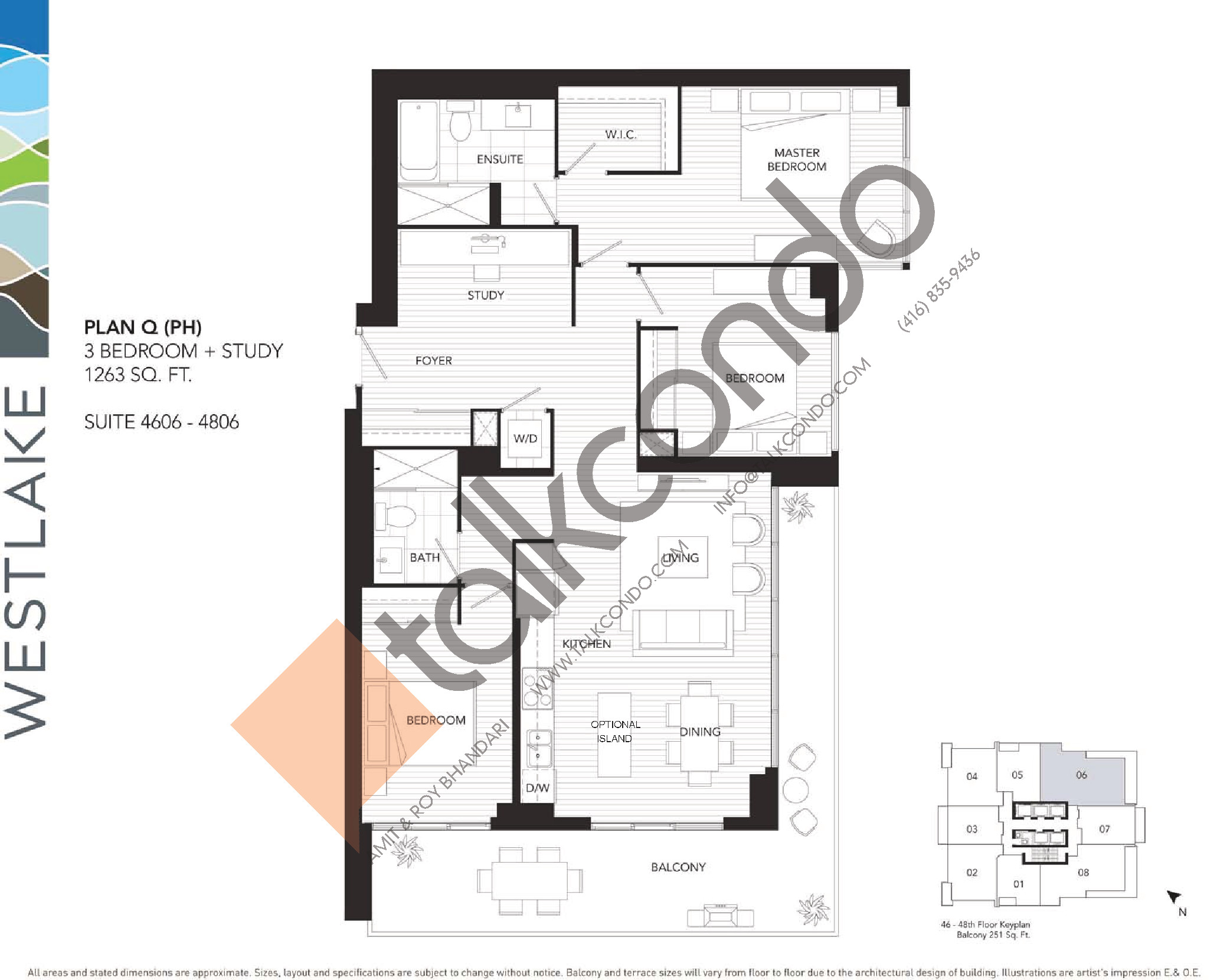 westlake phase 1 condos talkcondo. Black Bedroom Furniture Sets. Home Design Ideas