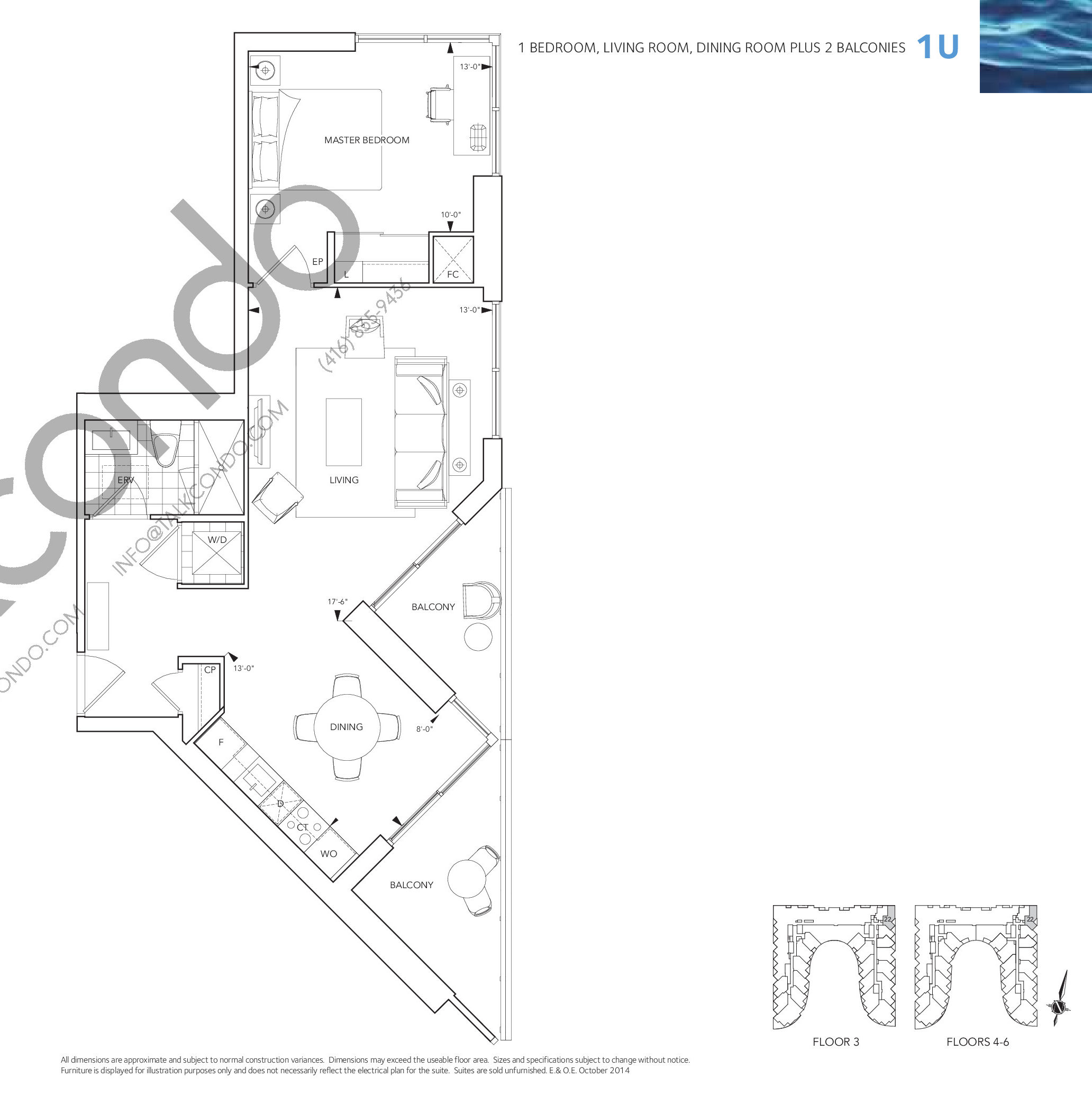 Aquavista At Bayside Condos Floor Plans Prices Availability Wiring Schematic Diagram October 2014 Quick View