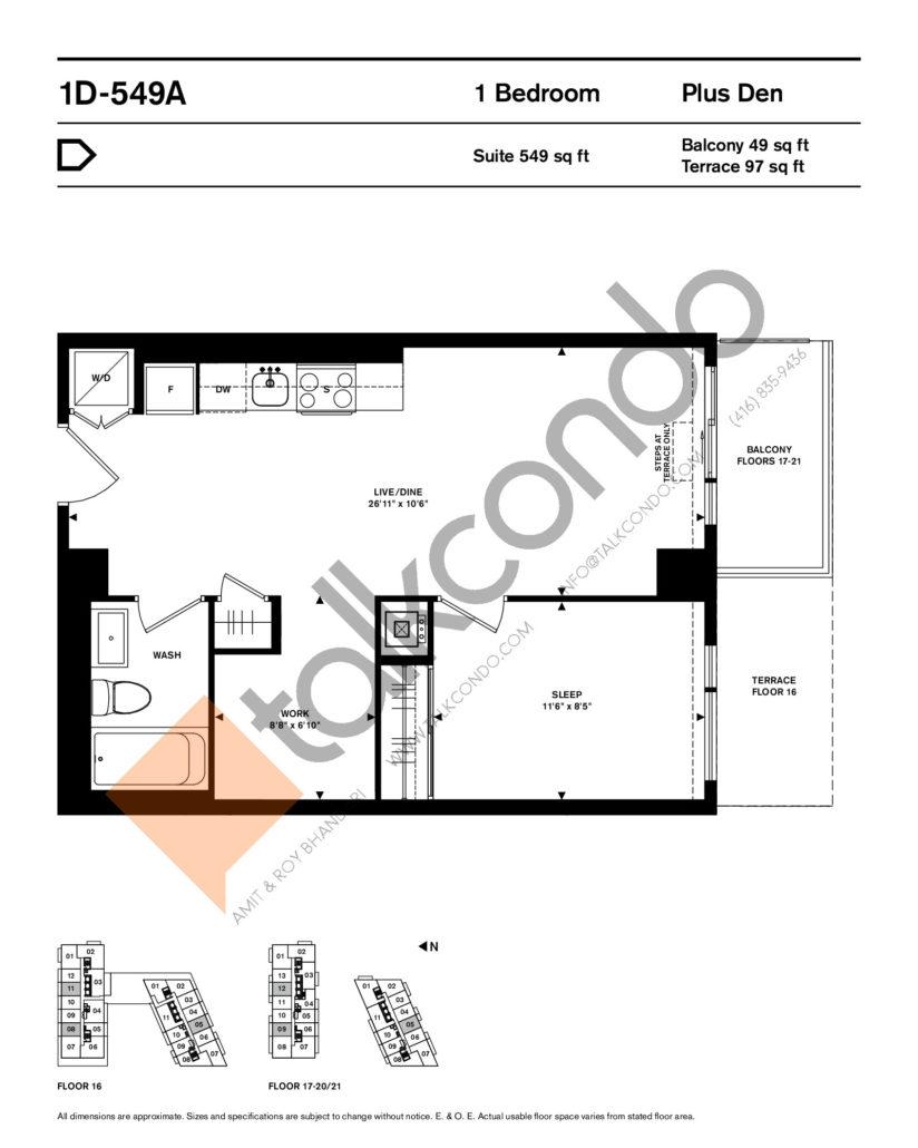 home (Power + Adelaide) Condos Condos Floor Plans