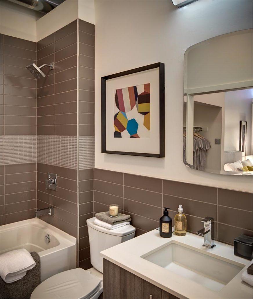 ParkCity Condos Model Suite Bathroom