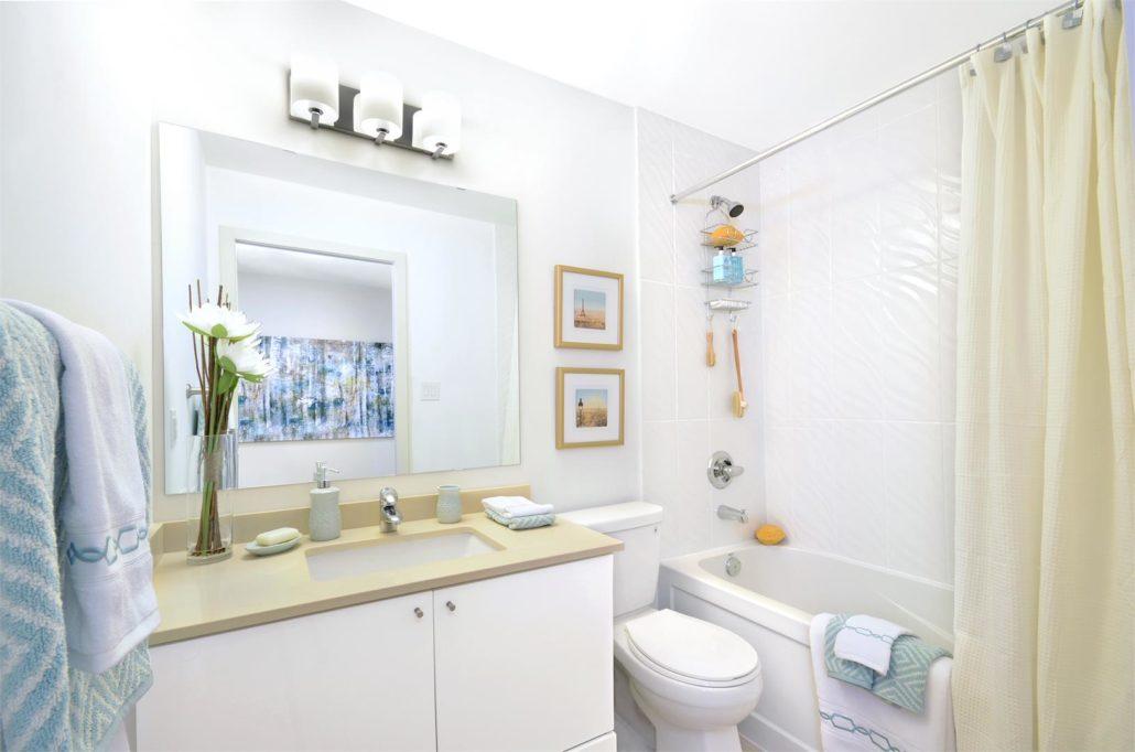 Pinnacle Grand Park 2 Model Suite Bathroom